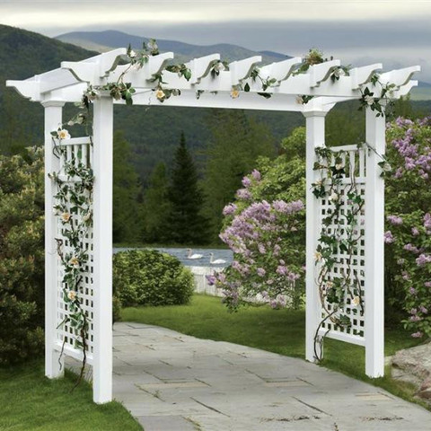 White Arbor (Floral Not Included)