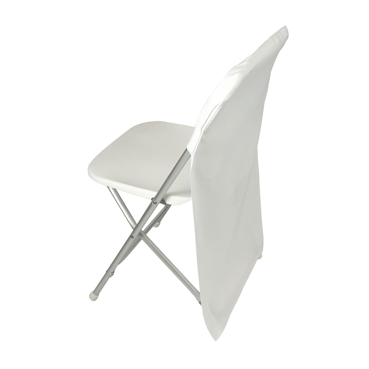 Chair Cover White Back Only