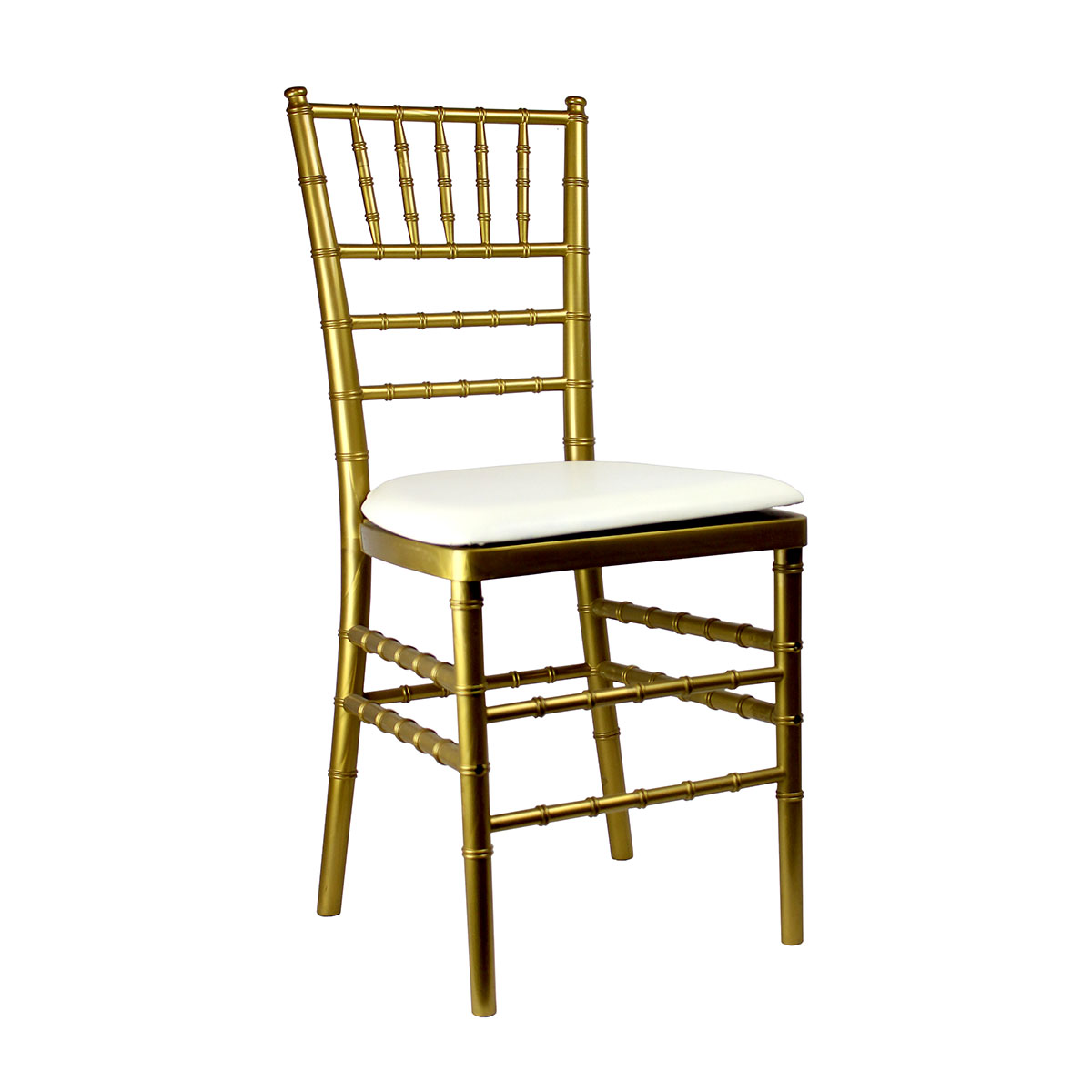 Gold Chiavari Resin Chair With Pad