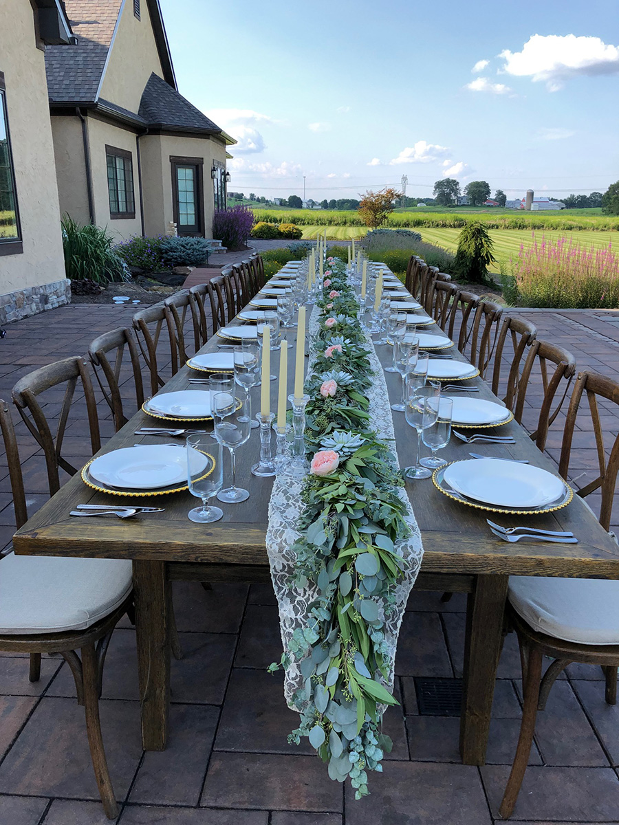 Multiple Farm Tables