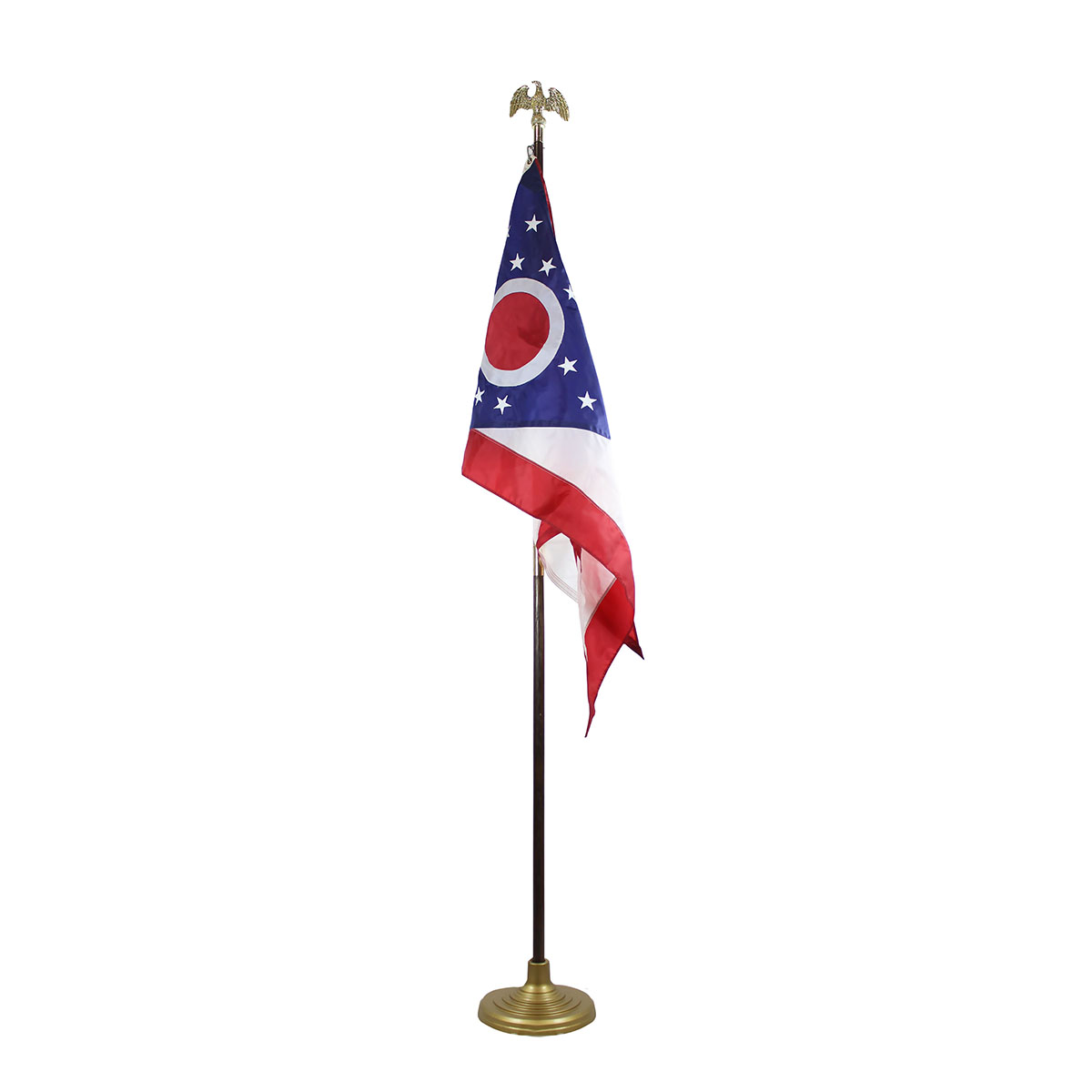 Ohio Flag with 8' Pole (3X5)
