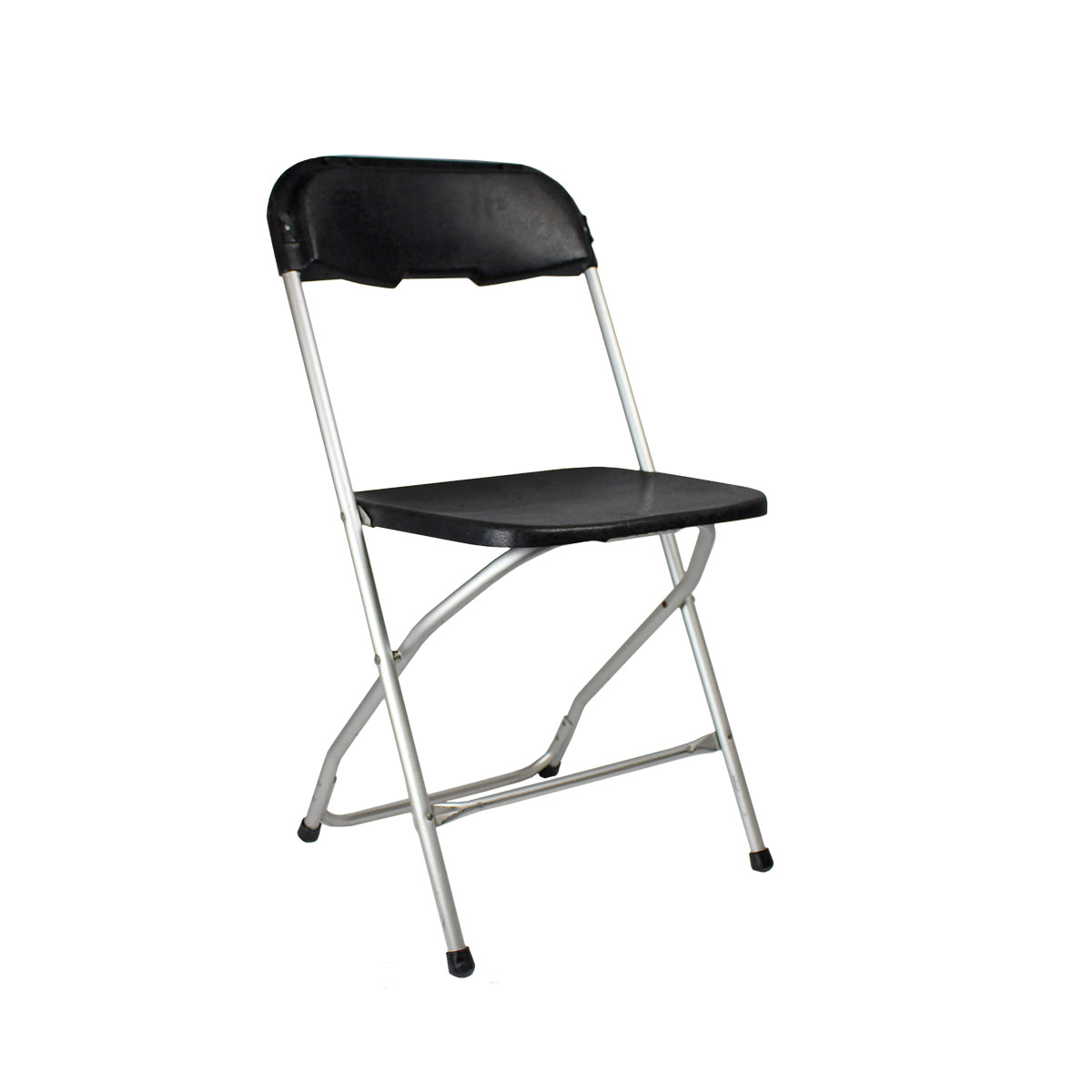 Chair Black Plastic Folding