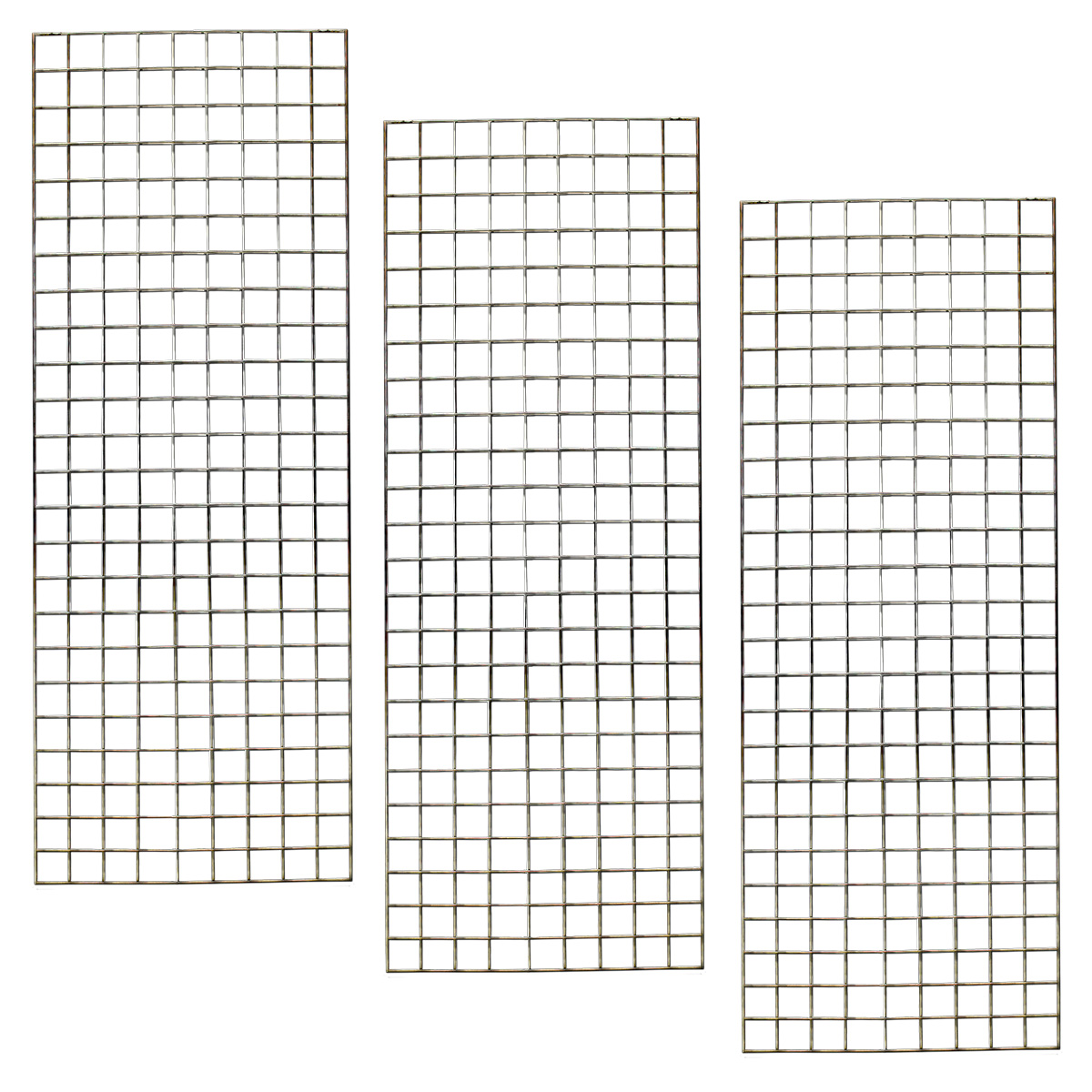 Gridwall Panels 3-2'X6' Pieces