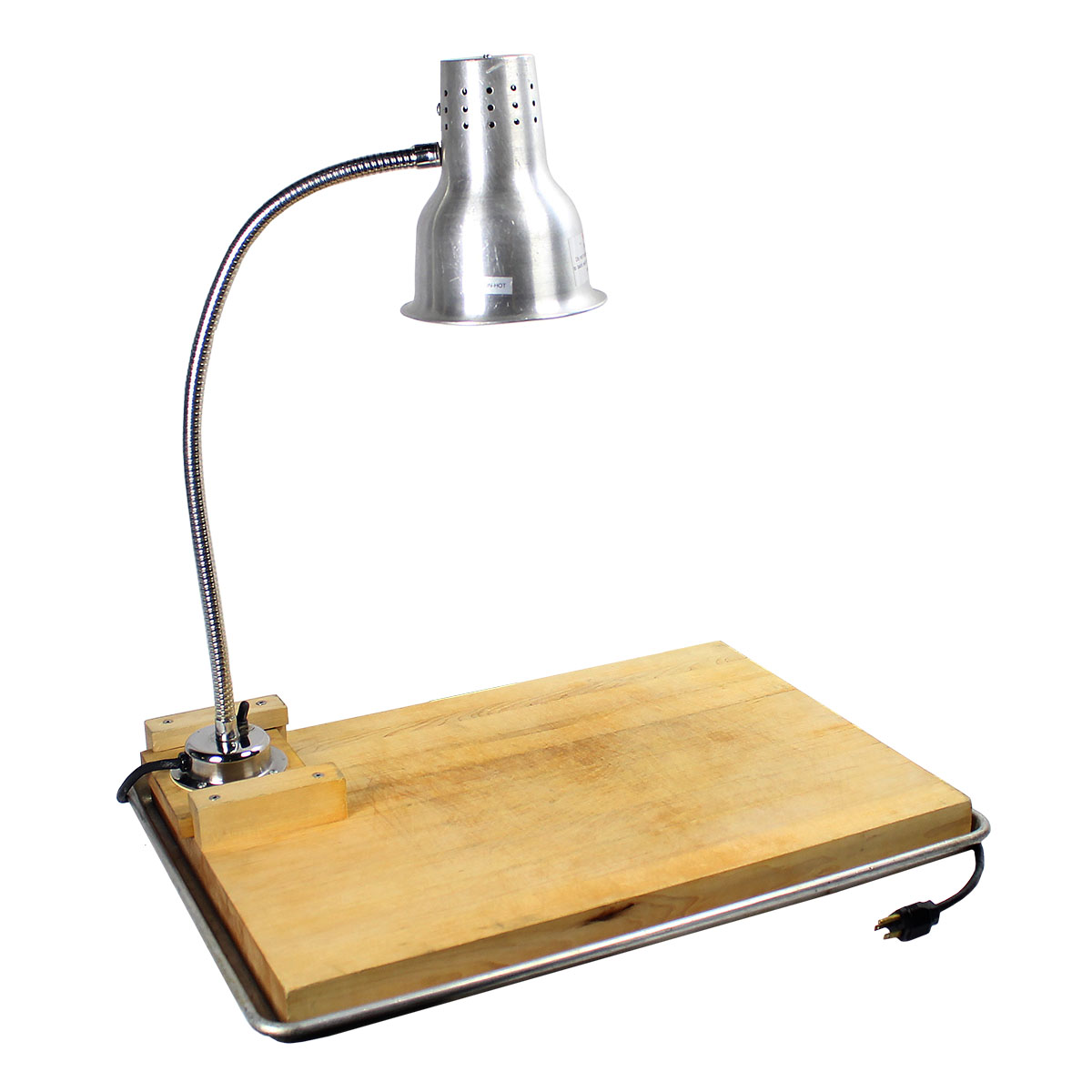 Heat Lamp with Board & Pan
