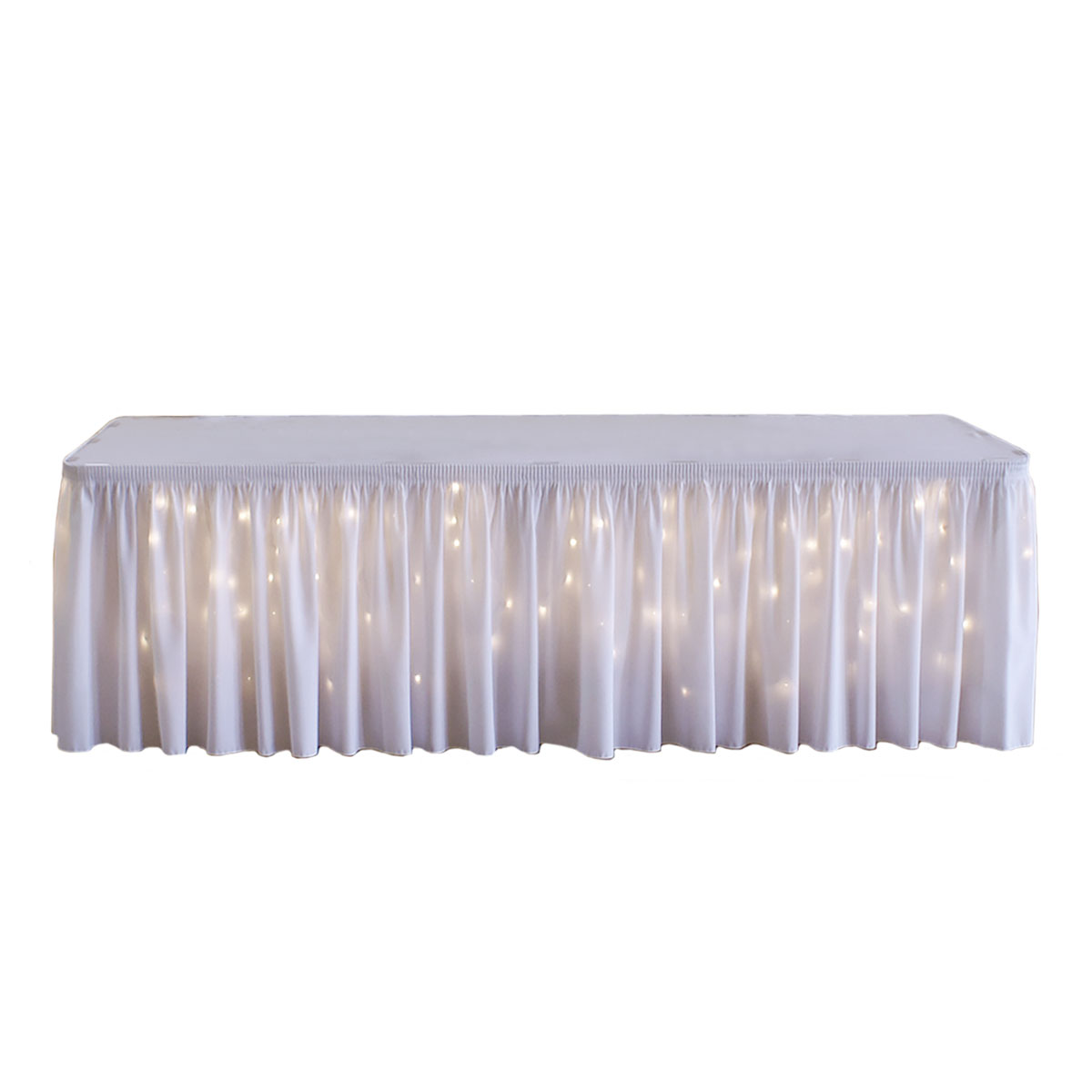 Lighted Table Skirting