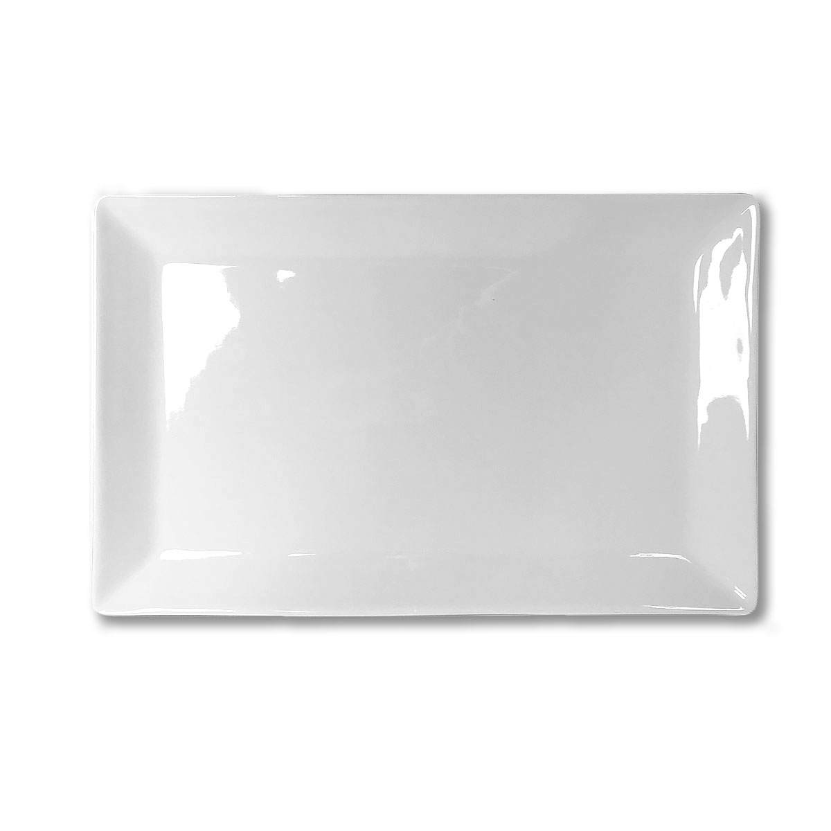 Platter White Rectangle 9