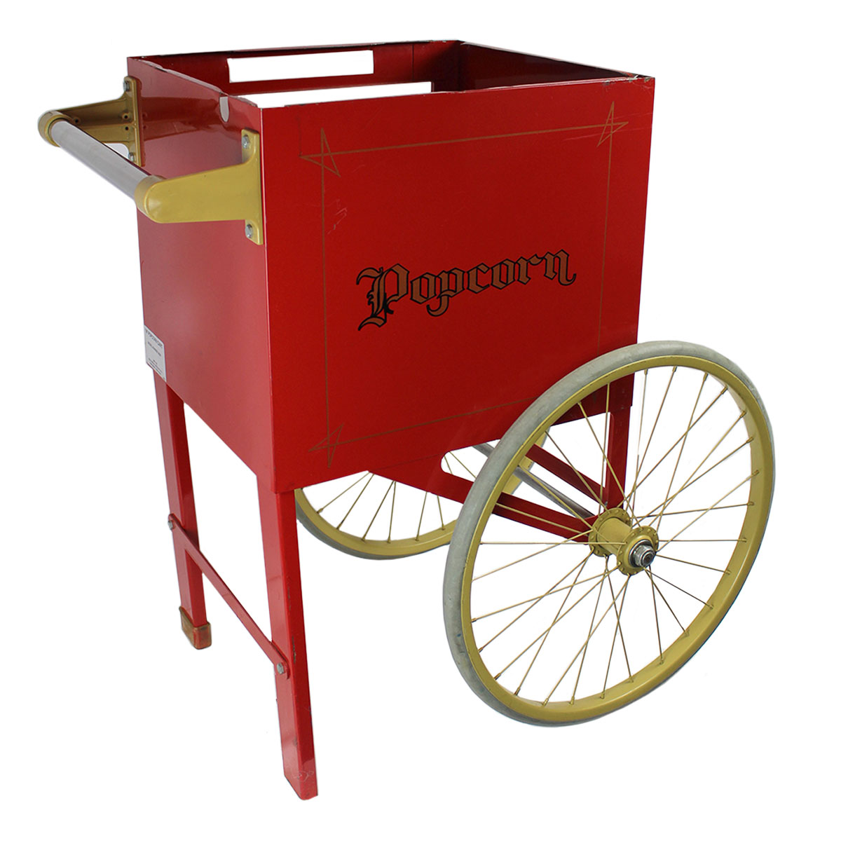 "Cart on Wheels 18"" for Popcorn Machine"